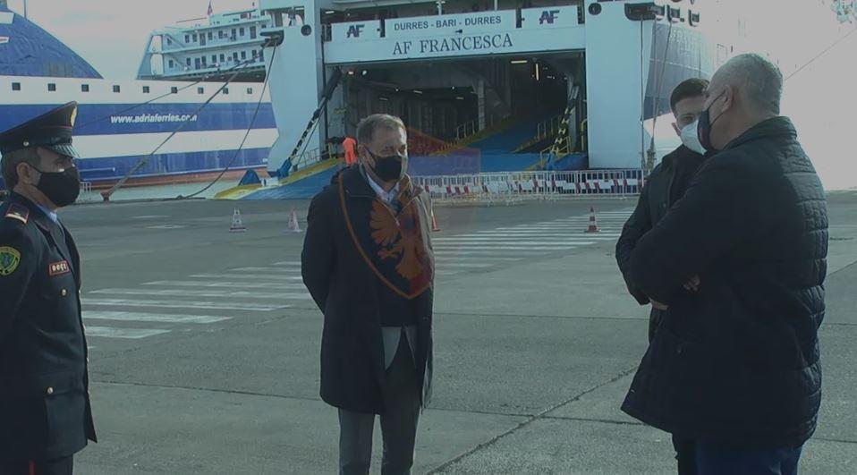 Evitimi i veprimtarive kriminale gjatë festave, Veliu e Gazheli inspektime në portin e Durrësit