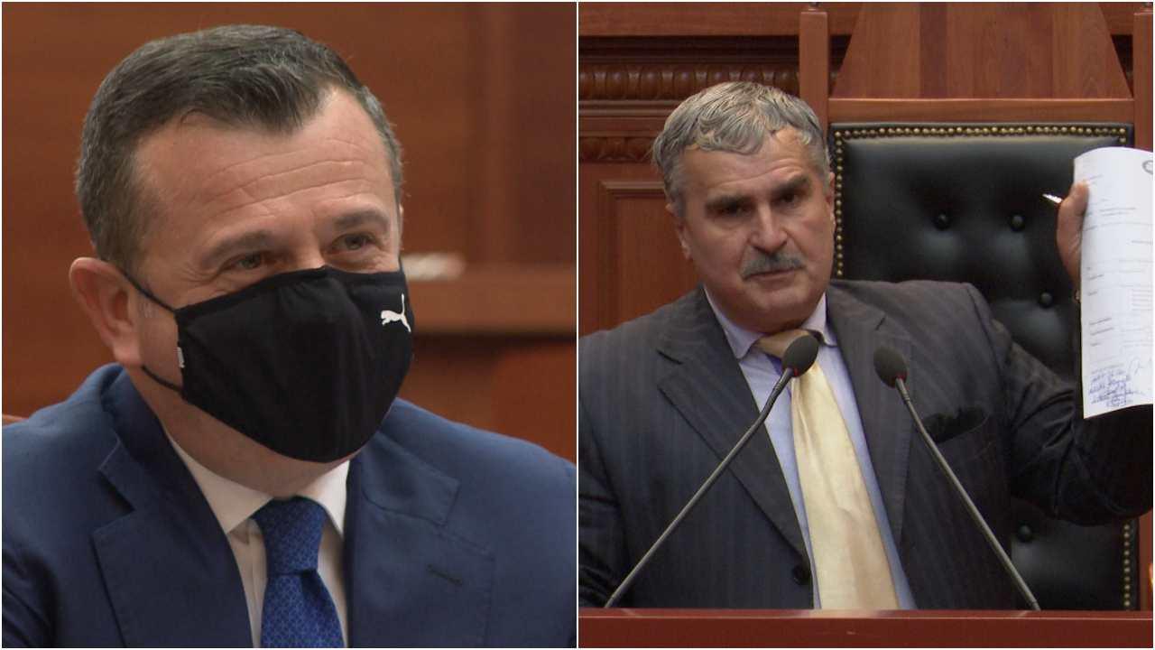 Gjuzi-Ballës: Taulant mos më pengo, jam dhëndër në Shkodër e di ti