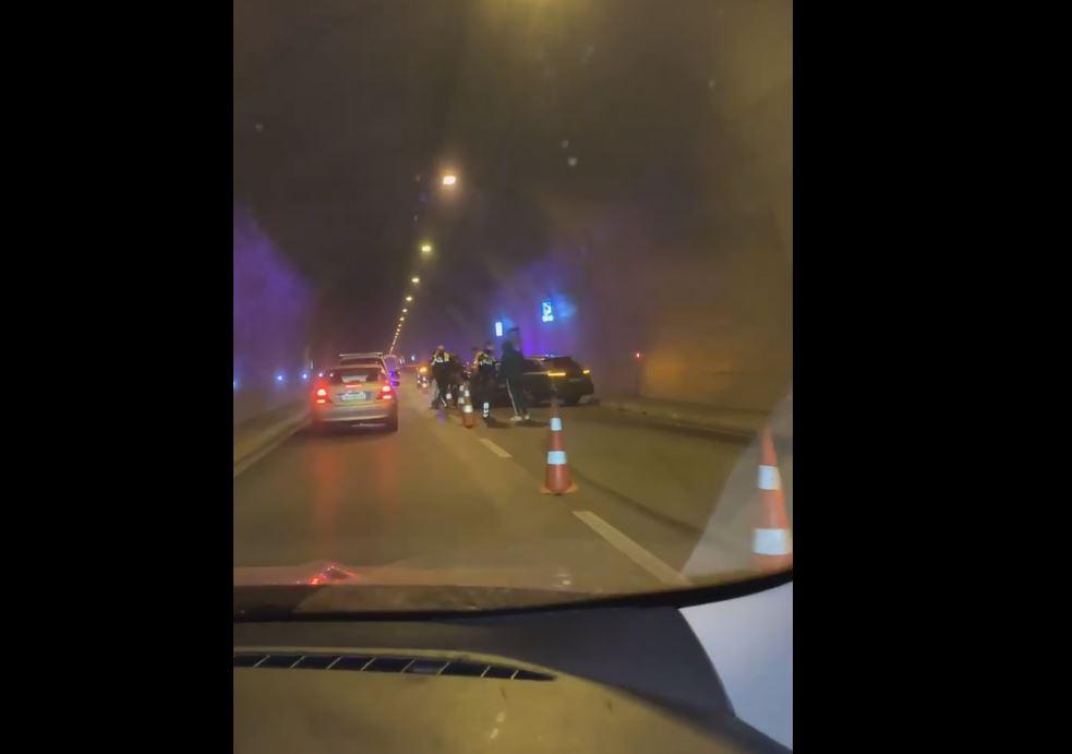 Aksidenti i rëndë brenda tunelit, Artan Hoxha: Shqiptarë, mos bëni gara shpejtësie!