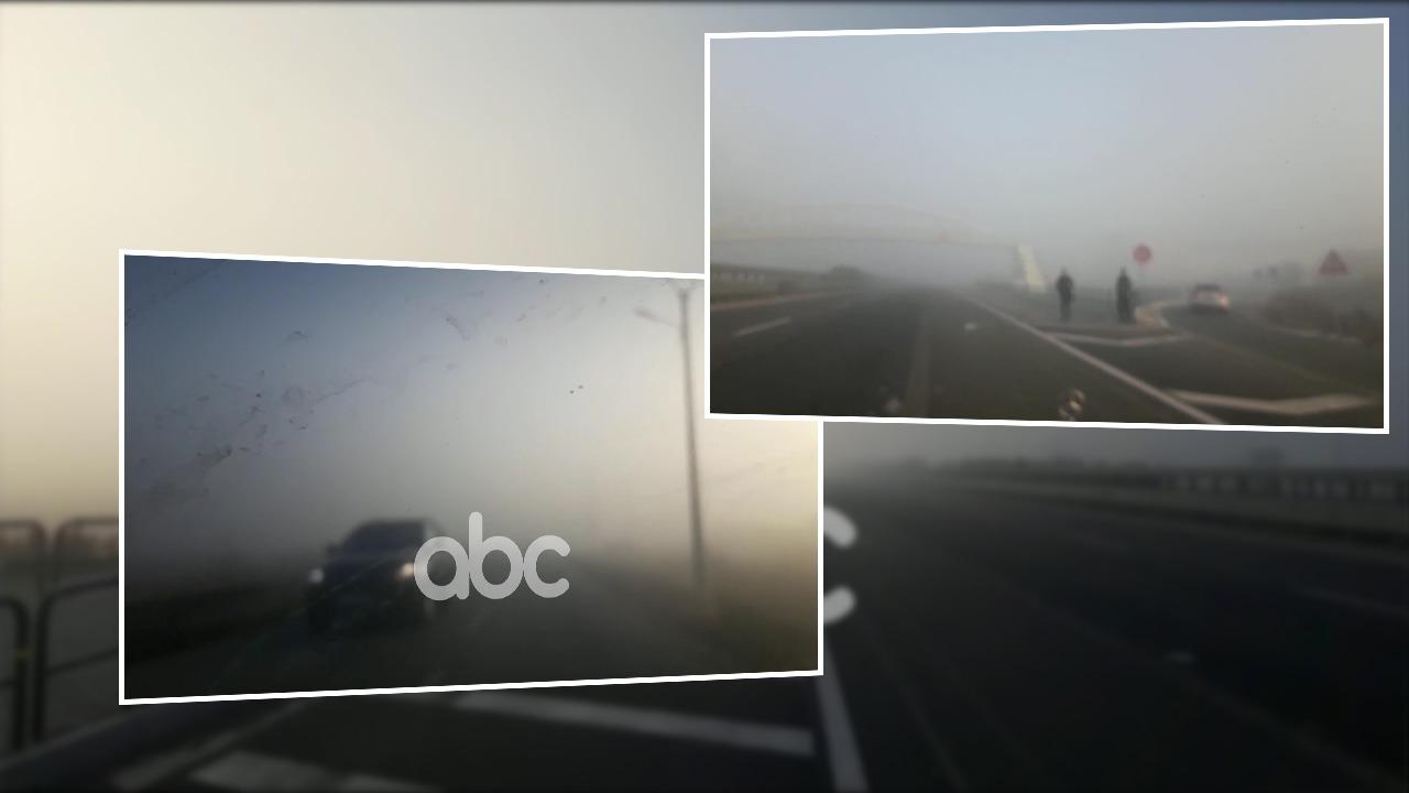 Mjegulla pushton akset rrugëve nacionale në Kurbin, drejtuesit e mjeteve në vështirësi