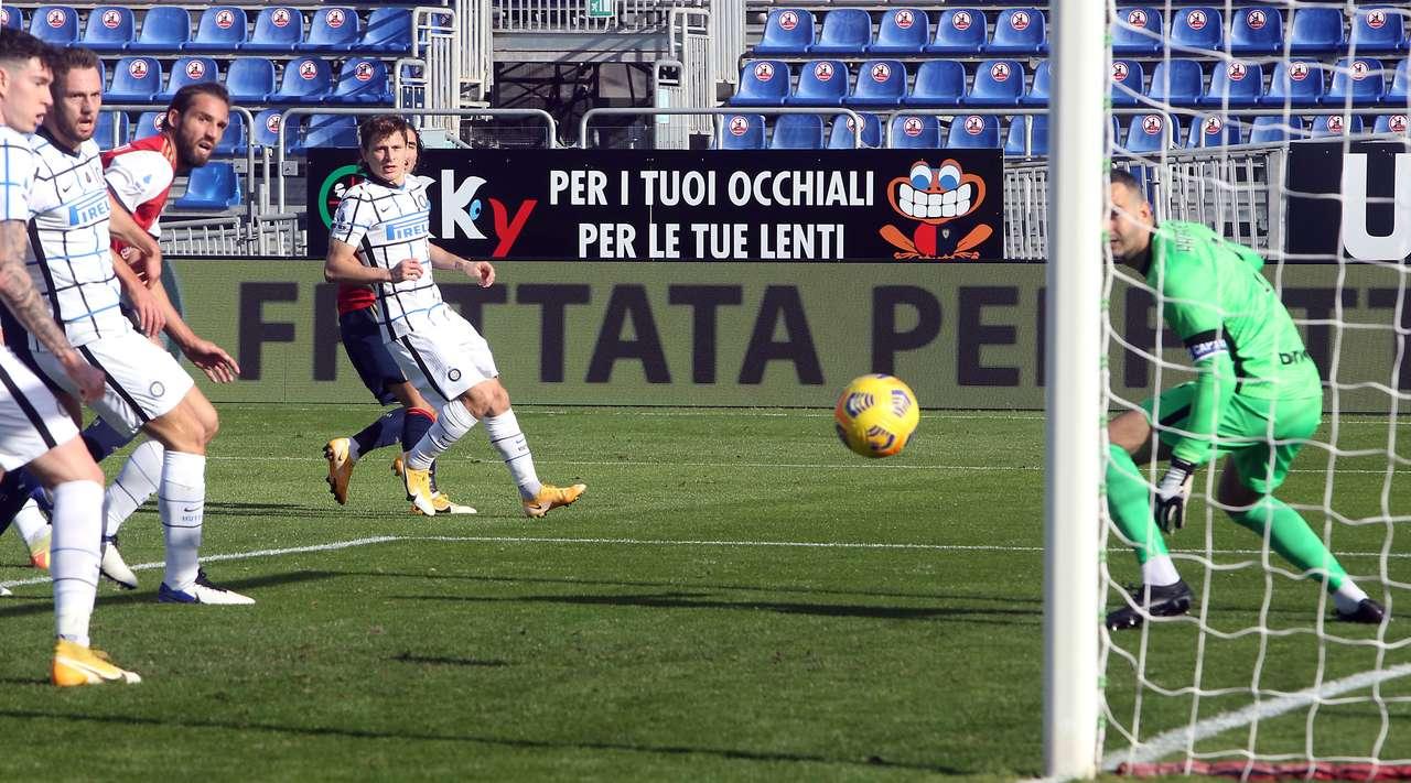 VIDEO/ Përmbysje karakteri, Interi triumfon ndaj Cagliarit