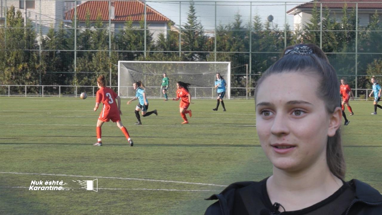 """""""S'mund ta mendoj jetën pa futboll"""": Njihuni me Jehona Cokën, talentin shqiptar të fushës së blertë"""