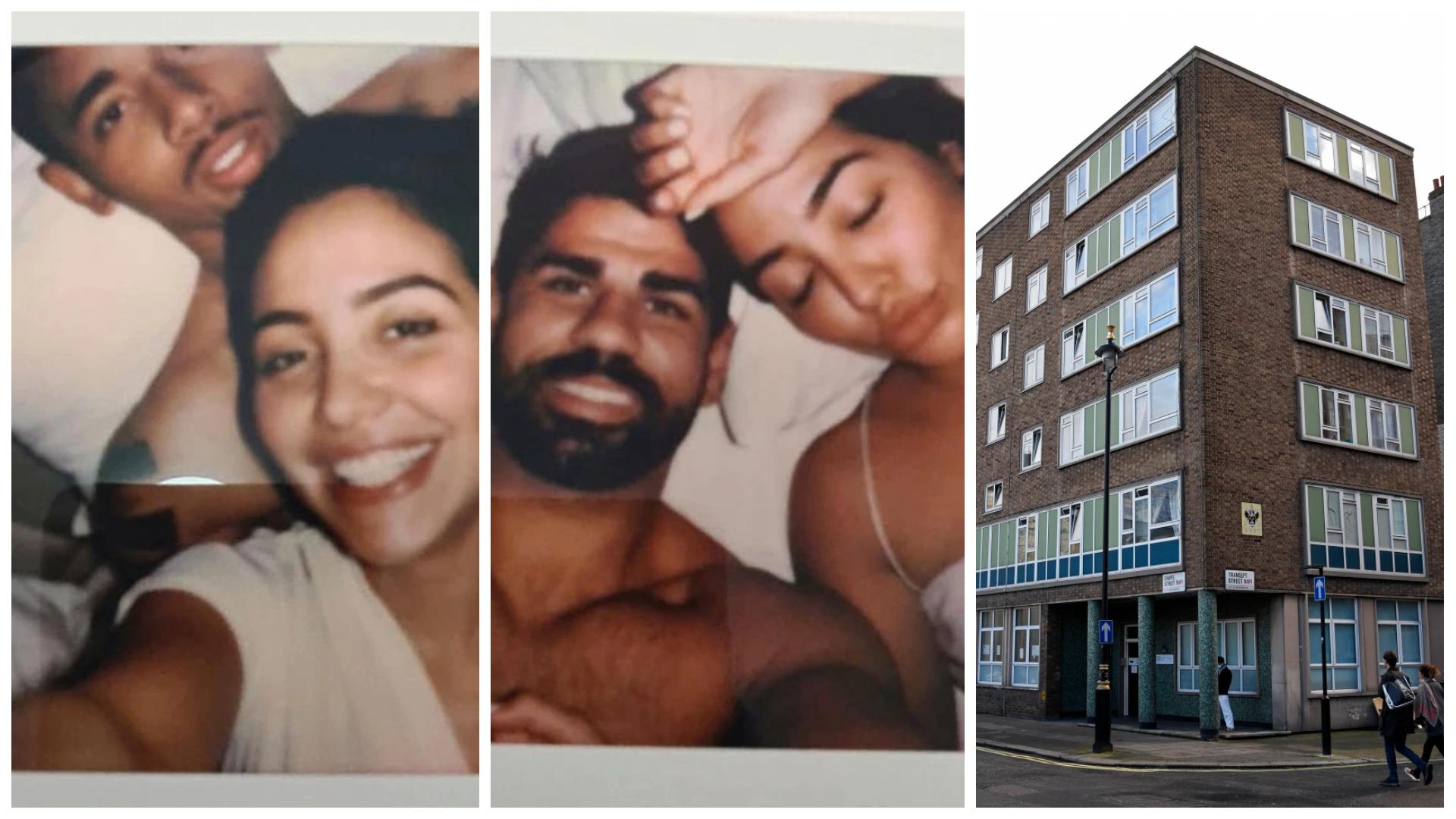 Foto të gjetura mes Biblës, Costa dhe Jesus në shtrat me të njëjtën vajzë