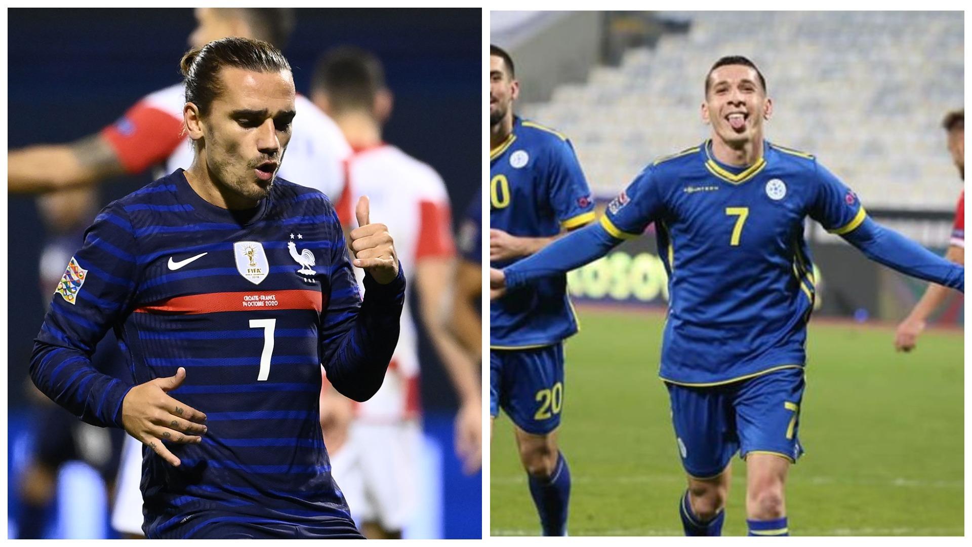 VIDEO/ Kastrati apo Griezmann? UEFA i vë kokë më kokë dy yjet