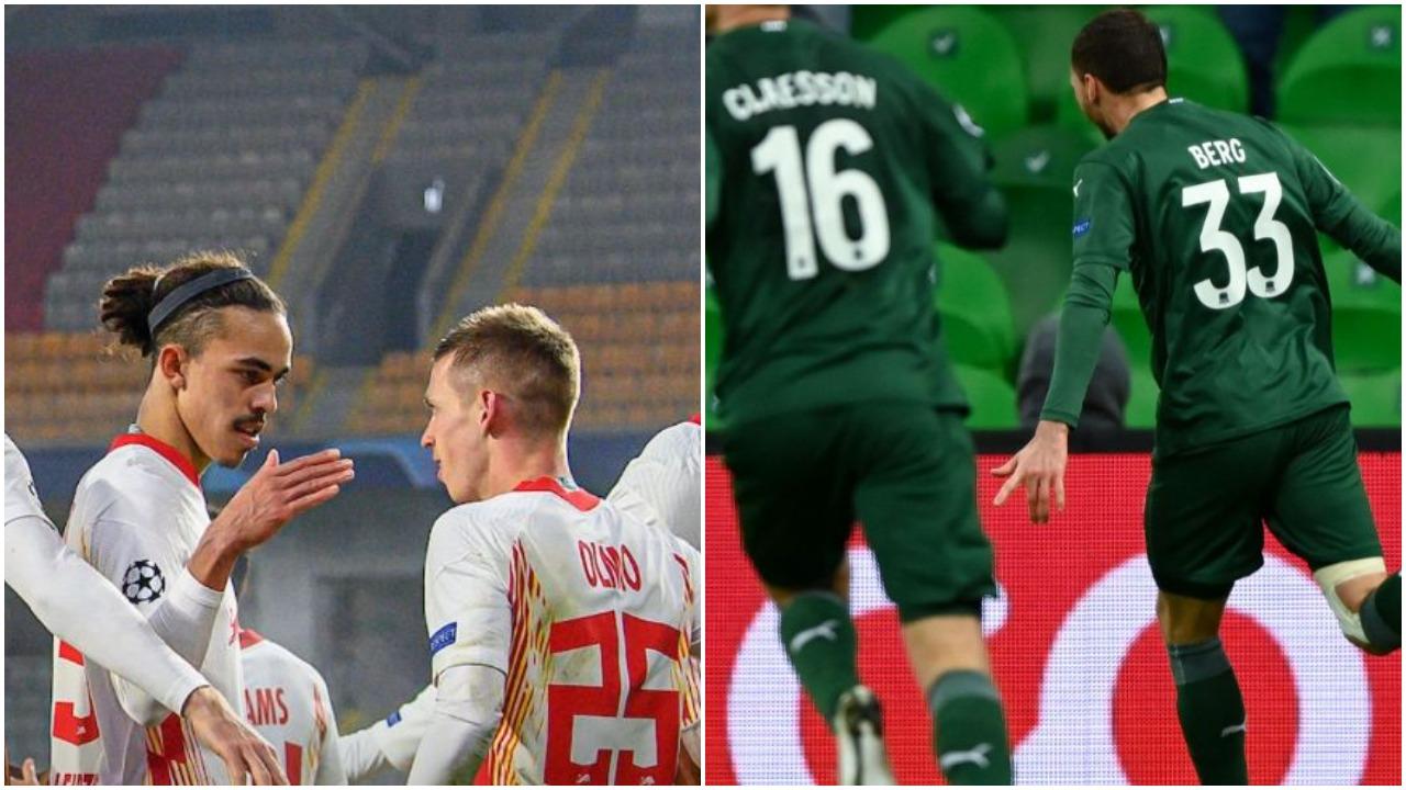 VIDEO/ Triumf i çmendur i Leipzig në Turqi, Krasnodar në Europa League