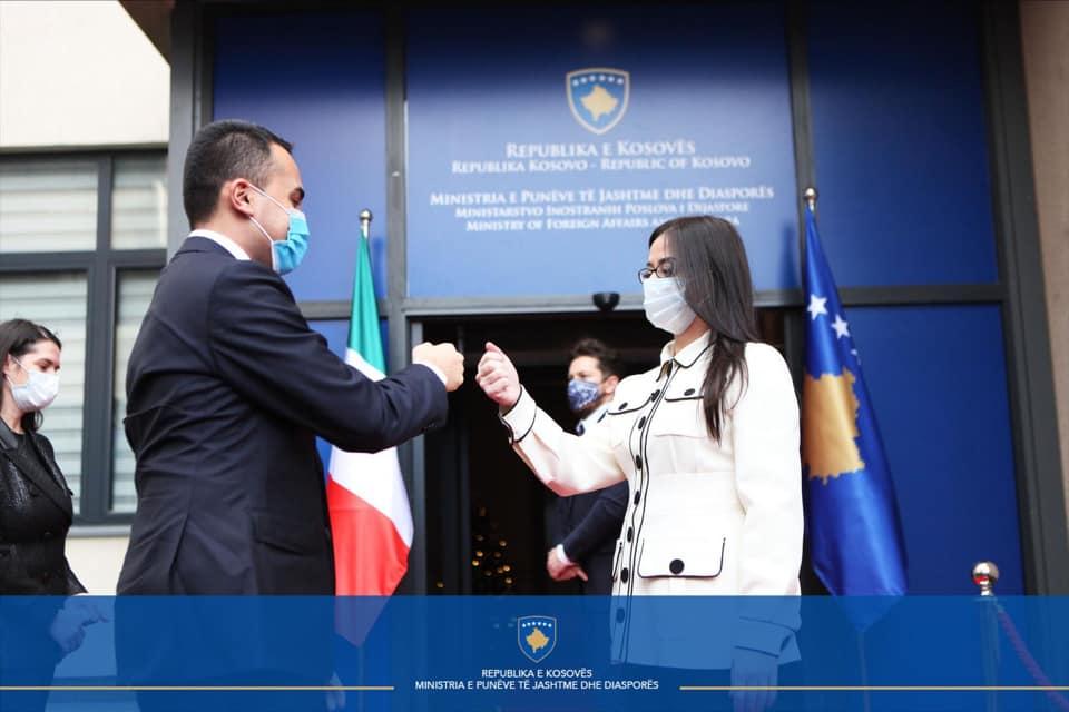 Luigi di Maio vizitë në Kosovë, Haradinaj-Stublla: Mbështetje për sigurimin e vaksinës anti-Covid