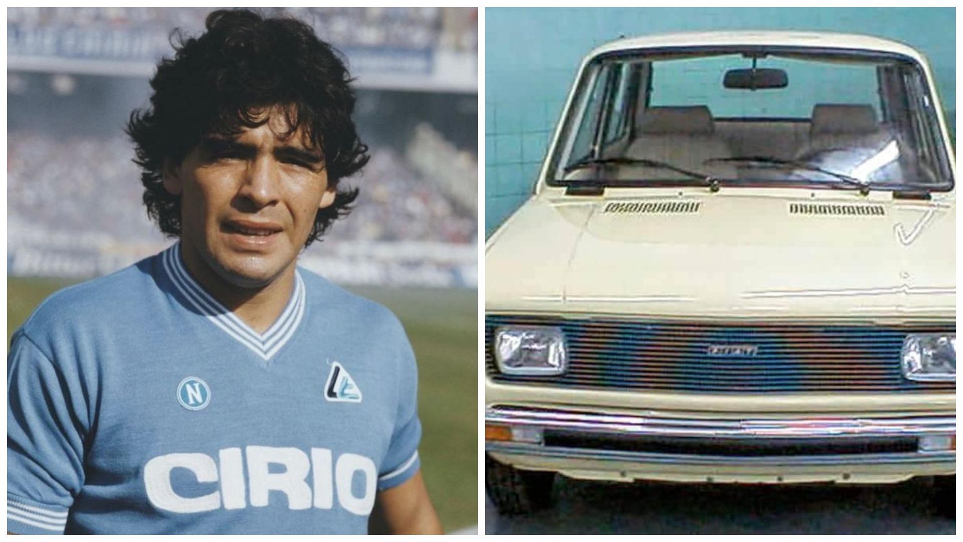 FOTO/ Maradona dhe luksi marrëdhënie e vështirë, El Diez ishte pronar i një Fiati