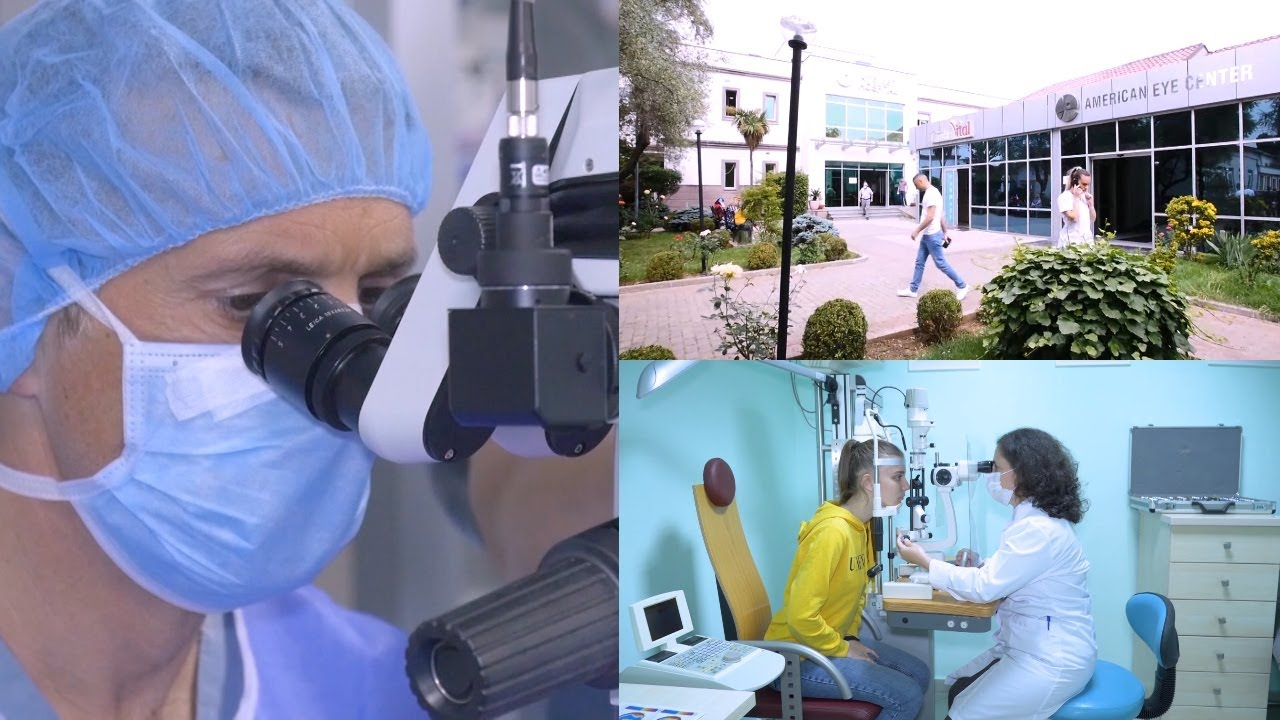 """Transplanti i kornesë procedurë në """"American Eye Center"""""""