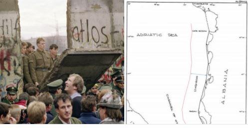 Meçollari: Rënia e Murit të Berlinit dhe zgjerimi i Greqisë me 12 milje (Historia në vite)