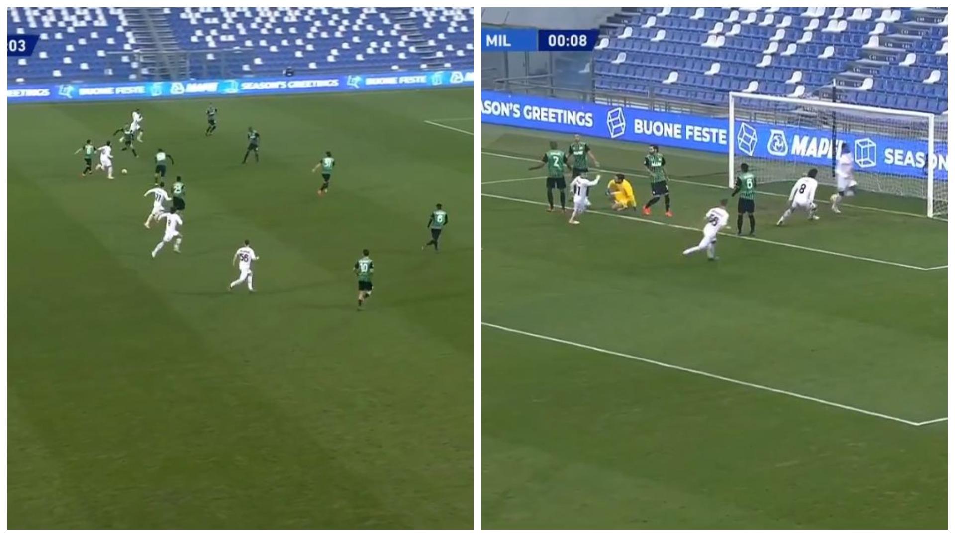 VIDEO/ Gol historik në Itali, Leao i Milanit thyen rekordin 19-vjeçar