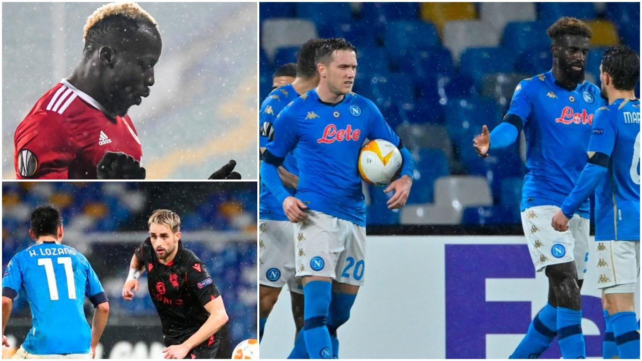 VIDEO/ Kualifikohen Napoli e Sociedad, Ali Sowe i shënon dy herë Romës
