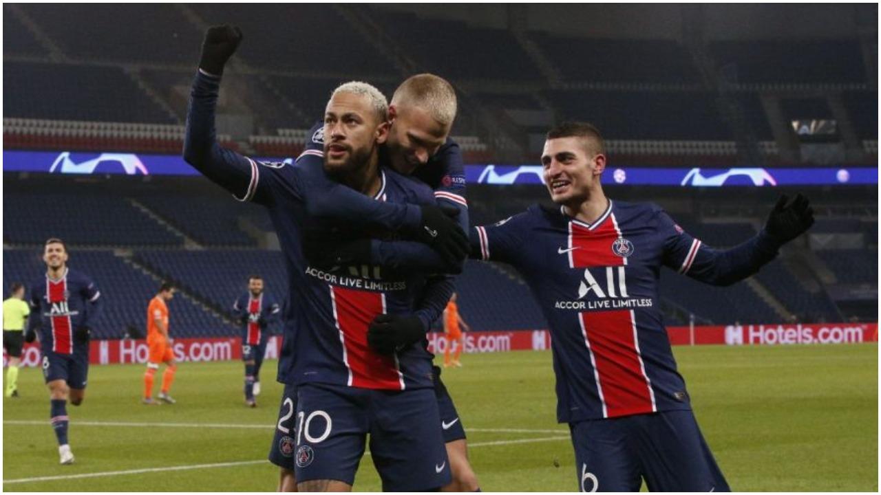 """VIDEO/ Super Neymar, PSG """"shtyp"""" turqit. Liverpool  gol në aksionin e parë"""
