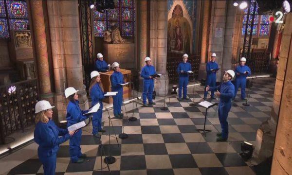 Pas zjarrit shkatërrues, Notre Dame mban për herë të parë koncert për Krishtlindje