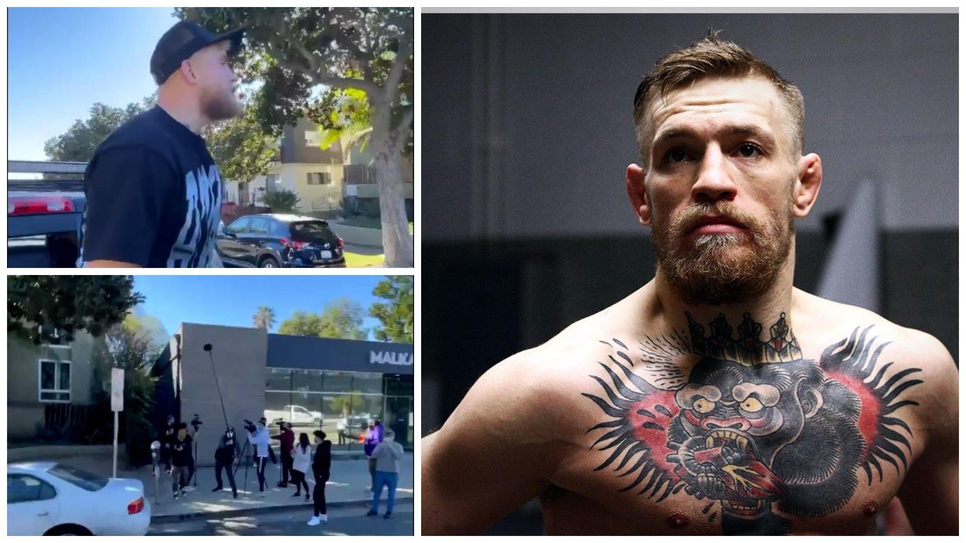 VIDEO/ I ofroi 50 milionë për t'u ndeshur, Paul sulmon McGregor gjatë intervistës
