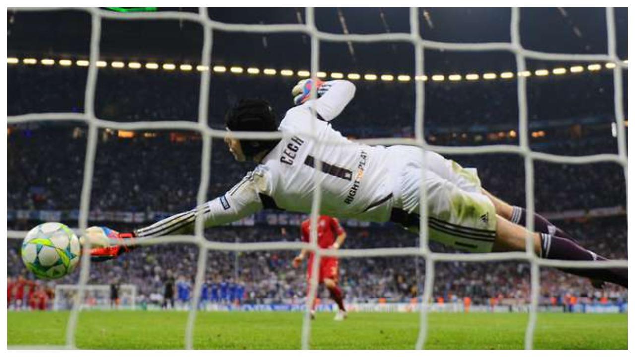 Rregullat e penalltisë për portierët, Petr Cech jep një ide praktike