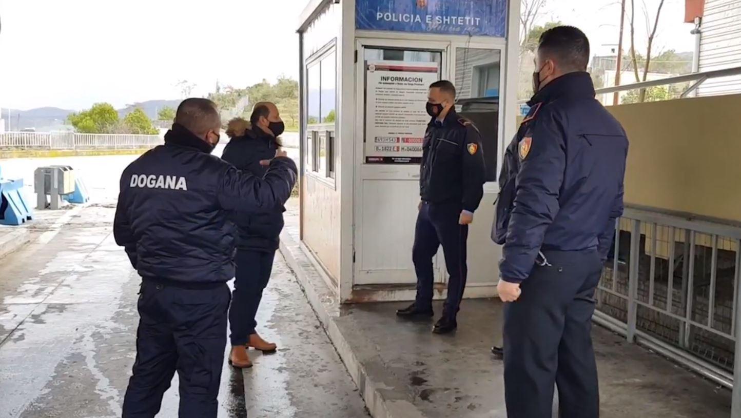 """""""Kontrabandë, drogë, falsifikime,"""" operacionet në pikën e Kalimit Kufitar Kakavijë gjatë 2020-tës"""