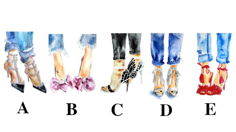 Zbuloni karakterin tuaj duke zgjedhur një palë këpucë