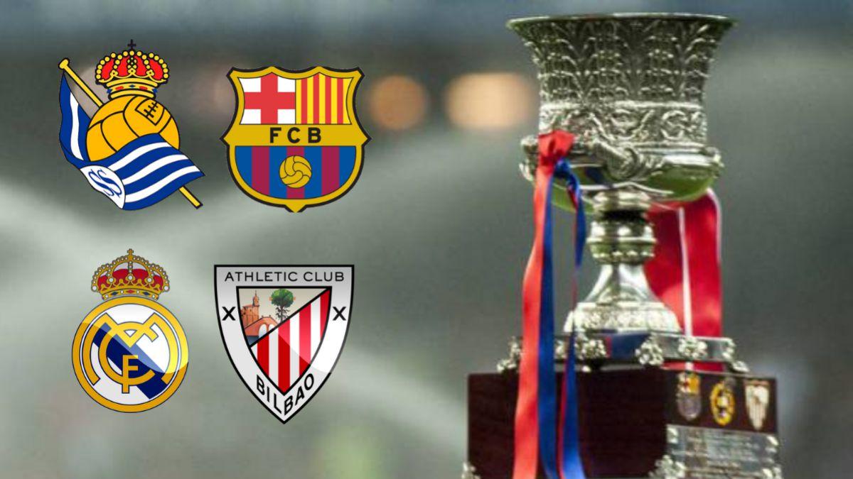 """Mund të shijojmë """"El Clasico"""" në finale, hidhet shorti i Superkupës së Spanjës"""