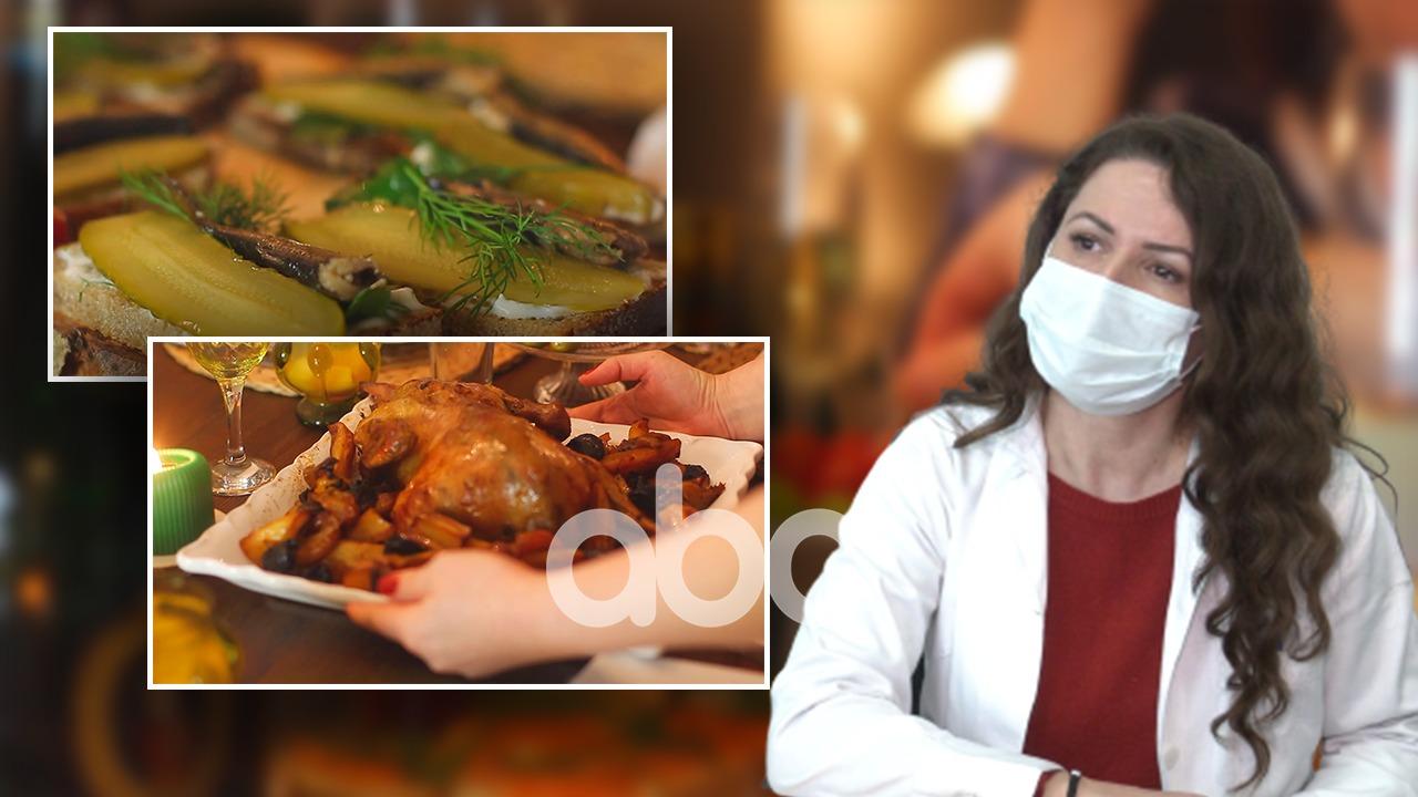 Tryeza e festës, mjekët: Kujdes me ushqimin