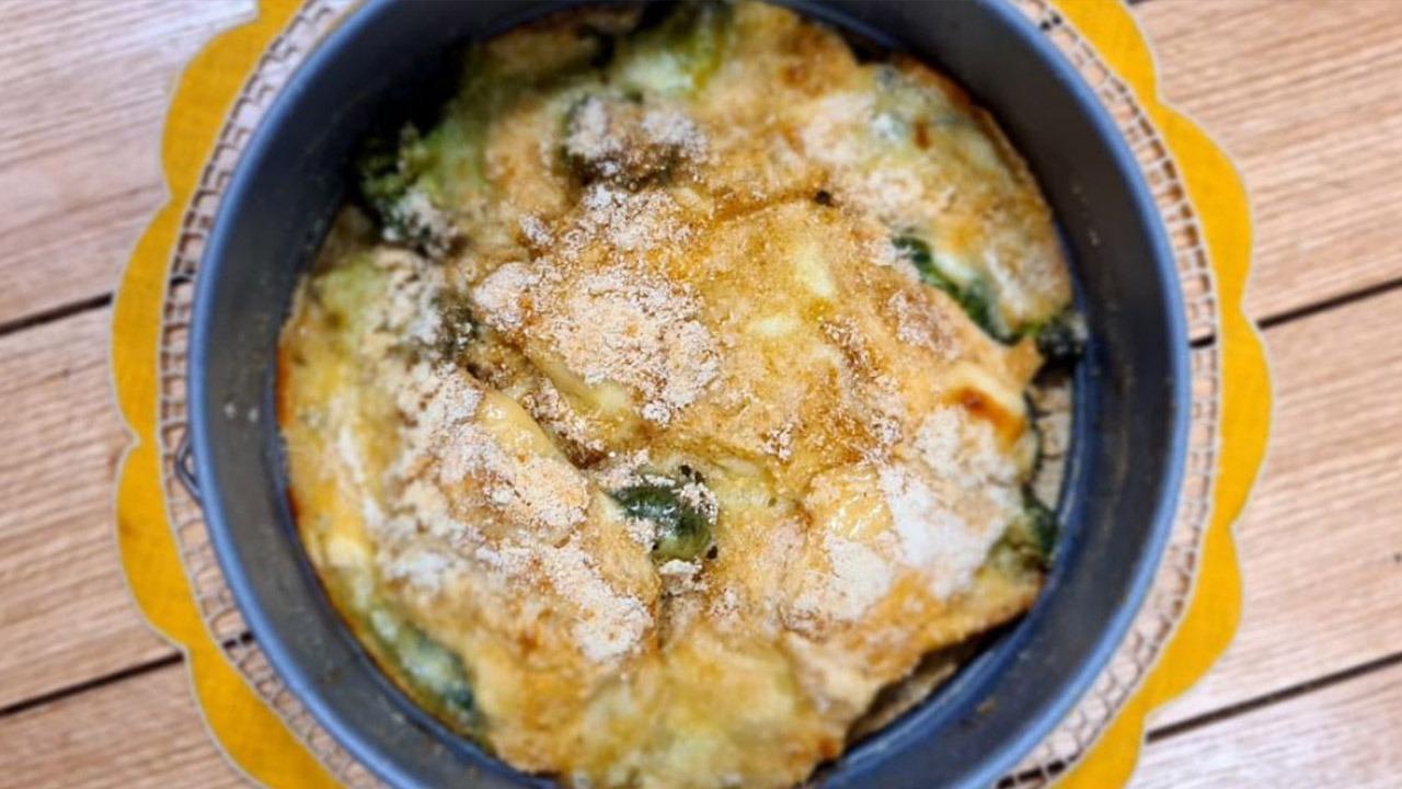 Brokoli me proshutë– Receta nga Florenca Reçi