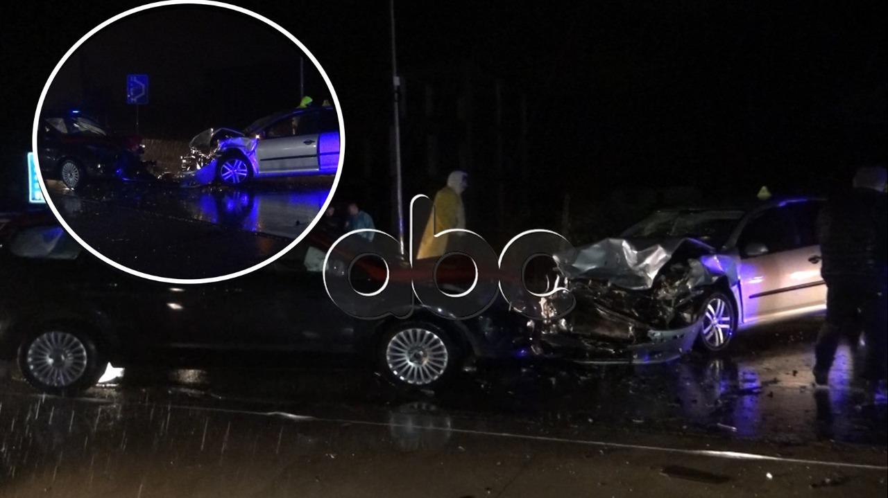 Garë me makina dhe përplasje kokë më kokë, 4 të plagosur në Shkodër dhe Cërrik