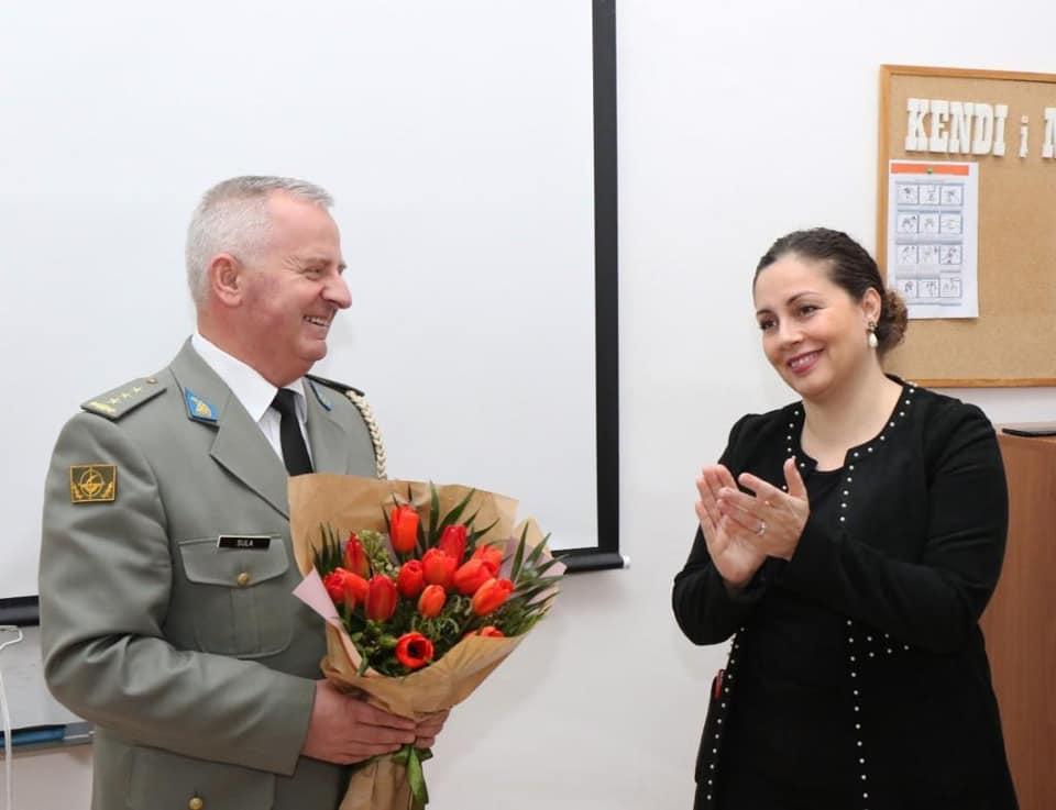 Humb betejën me Covid koloneli Agim Sulaj, pedagog i Akademisë së Forcave të Armatosura