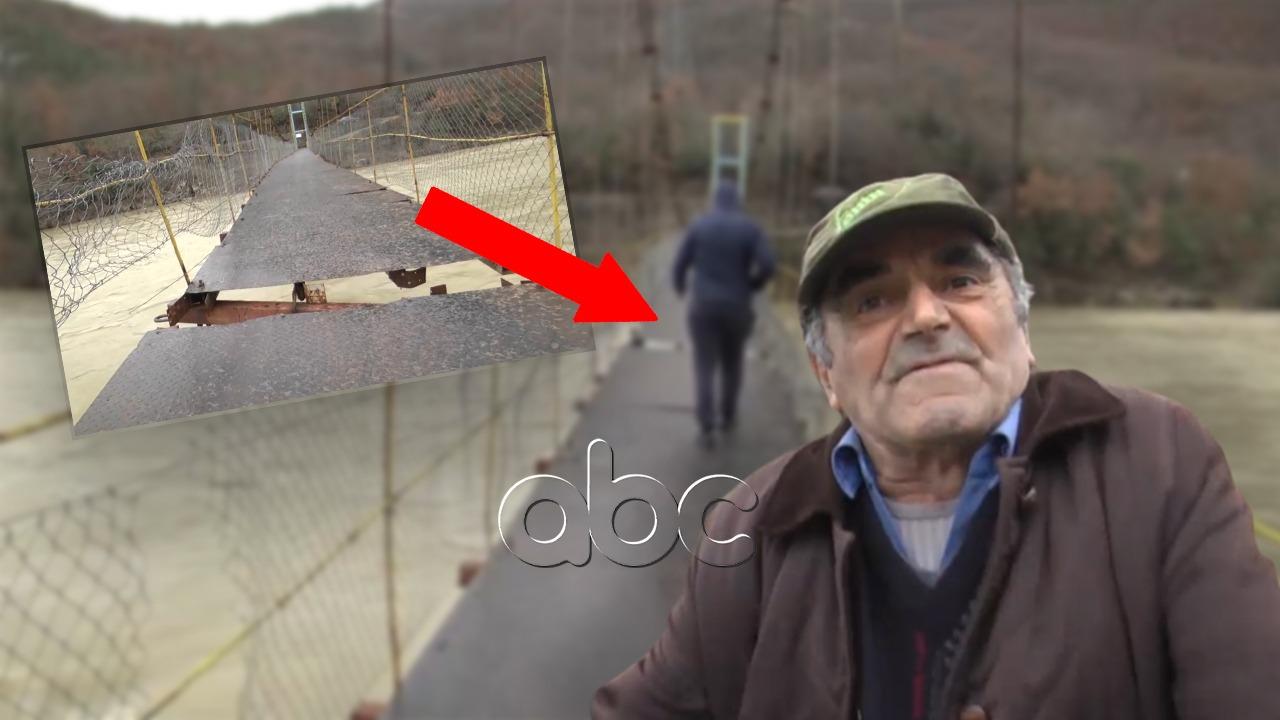 """Pas shiut """"thyhet në mes"""" ura e Skurajve, izolohen 200 banorë! Qytetari: Na rrezikohet jeta"""