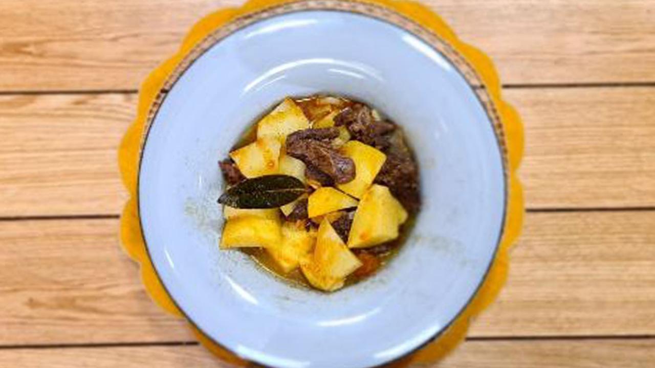 Mish me patate – Receta nga Florenca Reçi