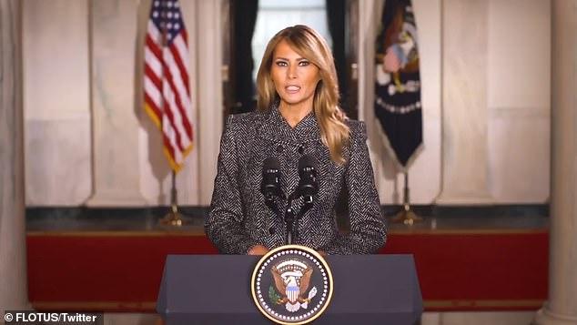 Melania Trump jep mesazhin e lamtumirës: Dhuna nuk është kurrë përgjigje
