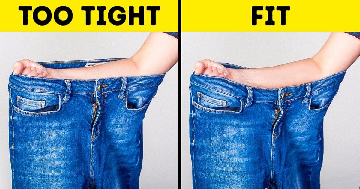 3 mënyra si të zgjidhni xhinset e duhura, pa i provuar