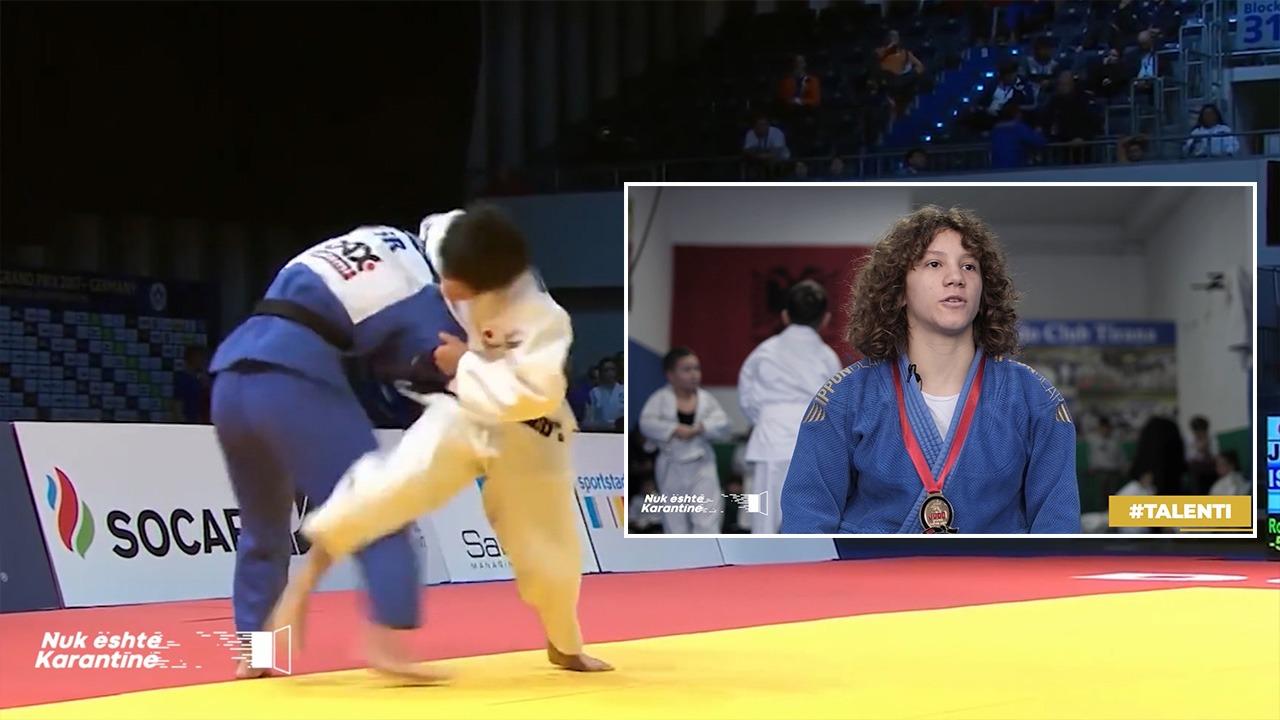 Talenti i ri shqiptar në Judo, kush është 15-vjeçarja e shpallur kampione e të rinjve
