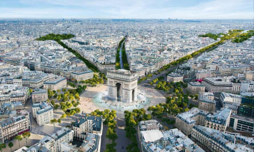 Parisi pranon zyrtarisht: Një nga rrugët më të bukura në botë do të shndërrohet në kopsht