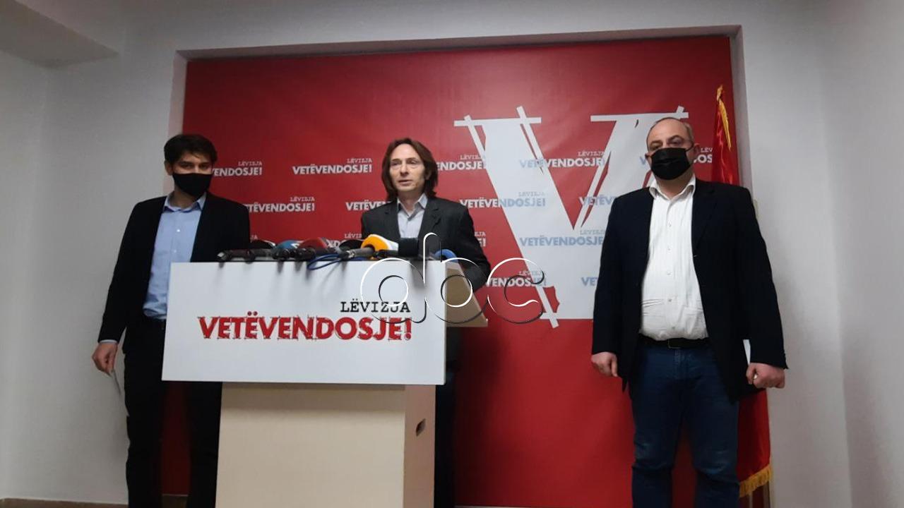 Në Lezhë dhe Tiranë, Vetëvendosja zyrtarizon dy kandidatët e parë për zgjedhjet e 25 Prillit