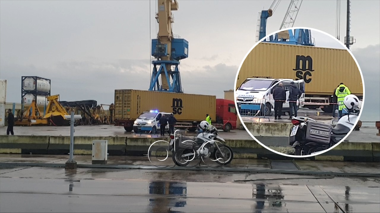 Trajleri përplas për vdekje efektiven e sigurisë portuale në Durrës