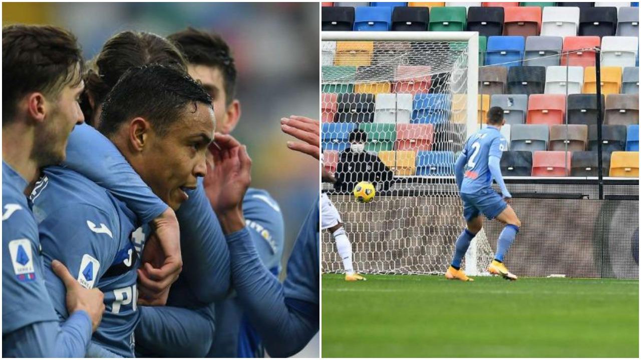 VIDEO/ Pëson gol që në start, perla e Muriel eviton humbjen e Atalantës