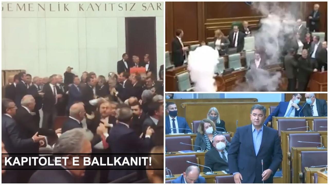 """""""Kapitolët"""" e Ballkanit, nacionalistët serbë: Nuk ka rëndësi nëse Amerika bie tani…"""