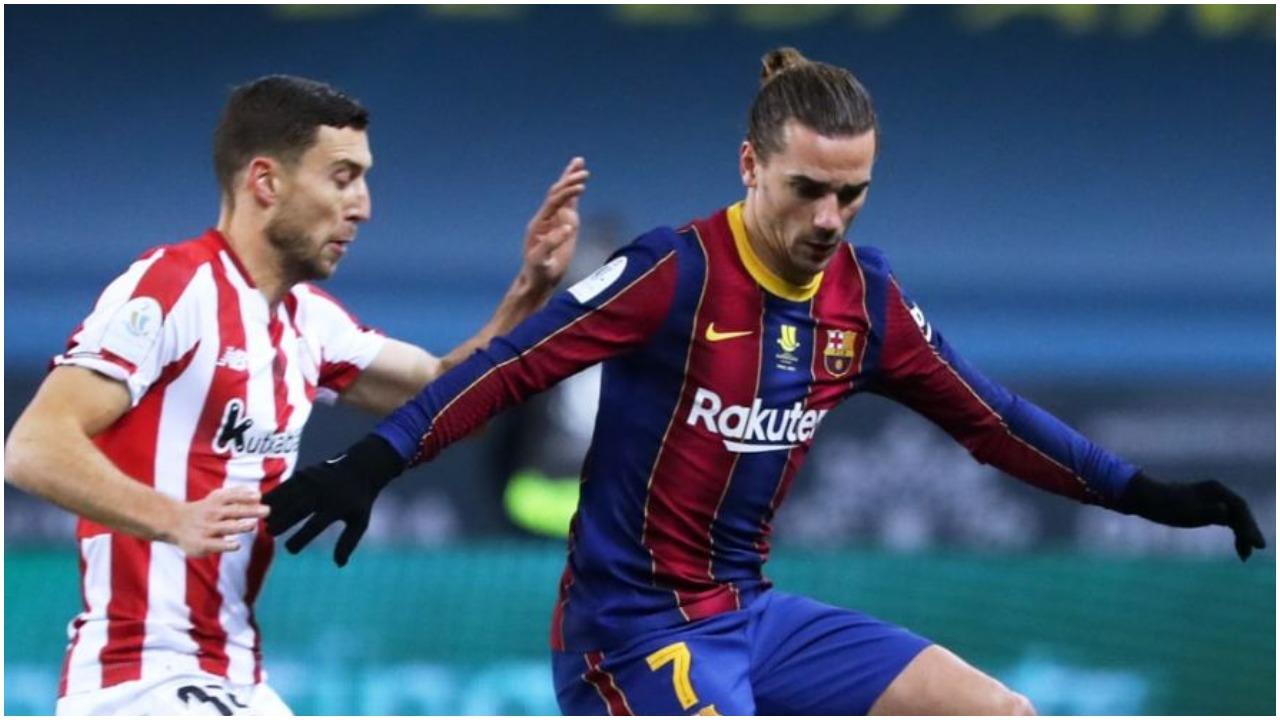 VIDEO/ Ndizet finalja e Superkupës, dy gola për dy minuta në Barcelona-Bilbao