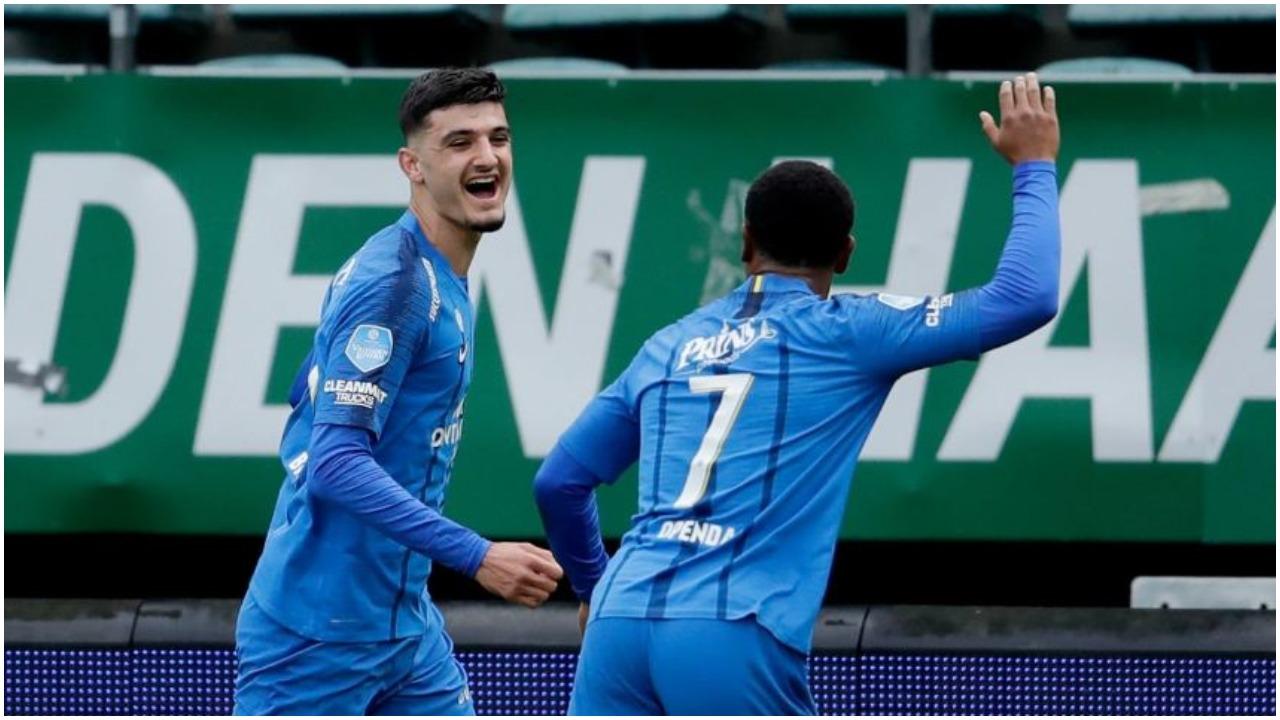 VIDEO/ Asist dhe gol në Holandë, Armando Broja protagonist te Vitesse