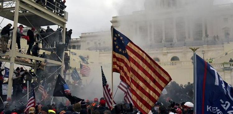 Dhuna në Kongres, dorëheqje në Shtëpinë e Bardhë