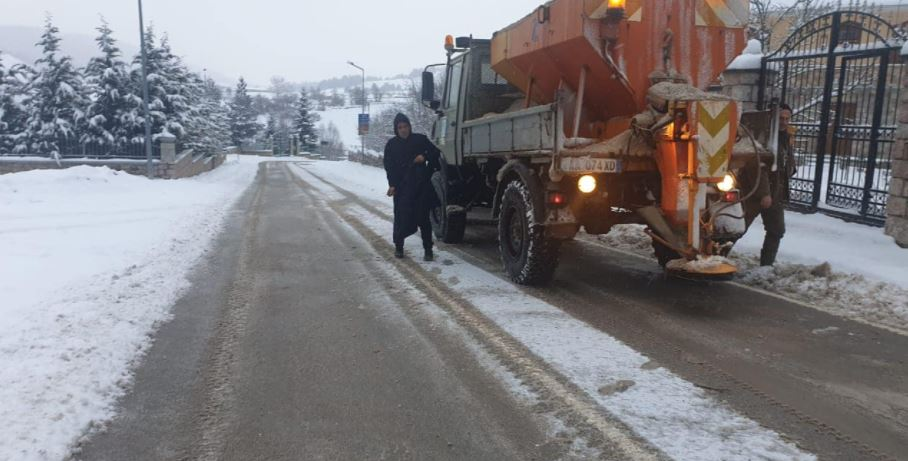 Snowfall and frost, how is the road situation in Albania and the axes where chains are needed