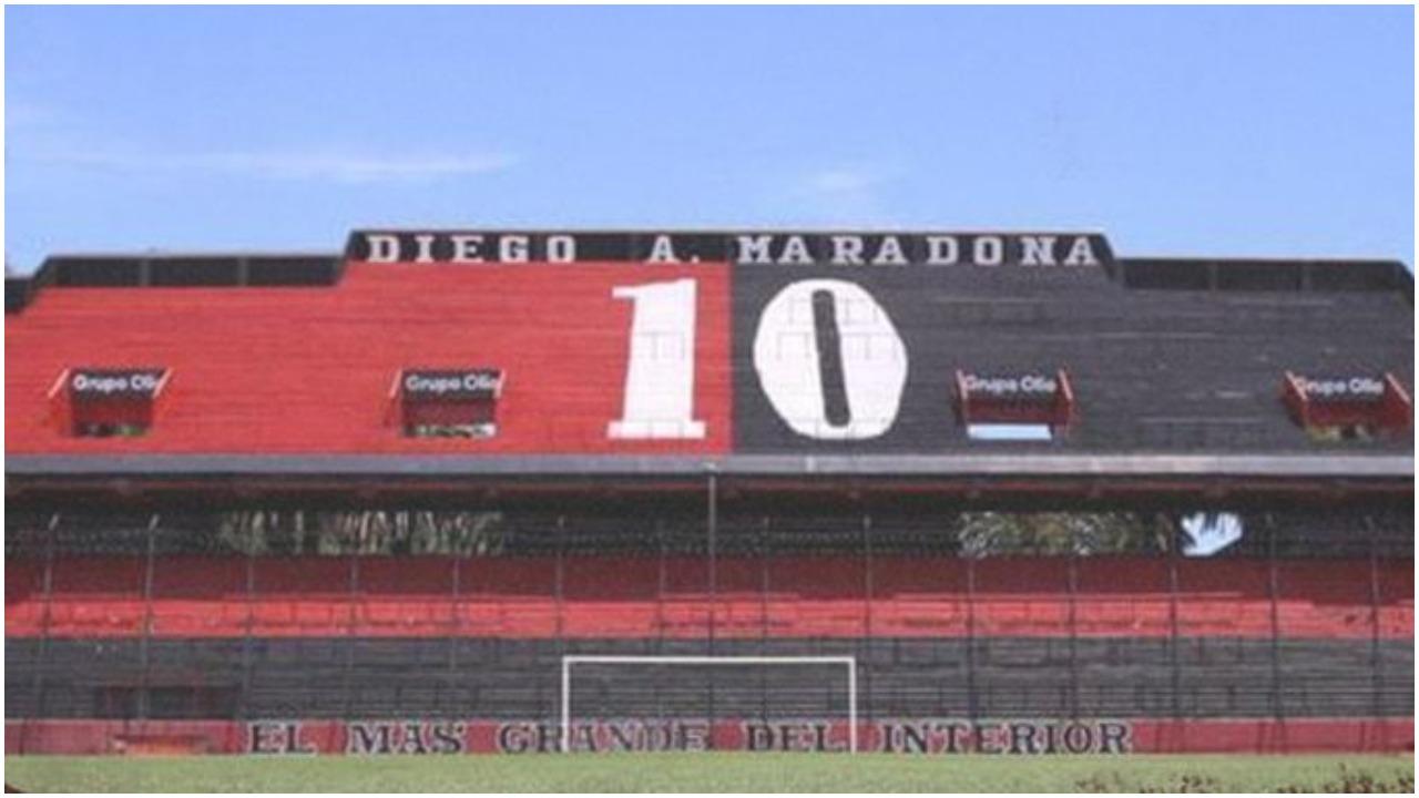 Newell's Old Boys nderon Maradonën, rruga afër stadiumet merr emrin e tij