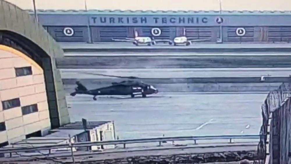 VIDEO/ Frikë në aeroportin turk, kamera e sigurisë fiksoi gjithçka