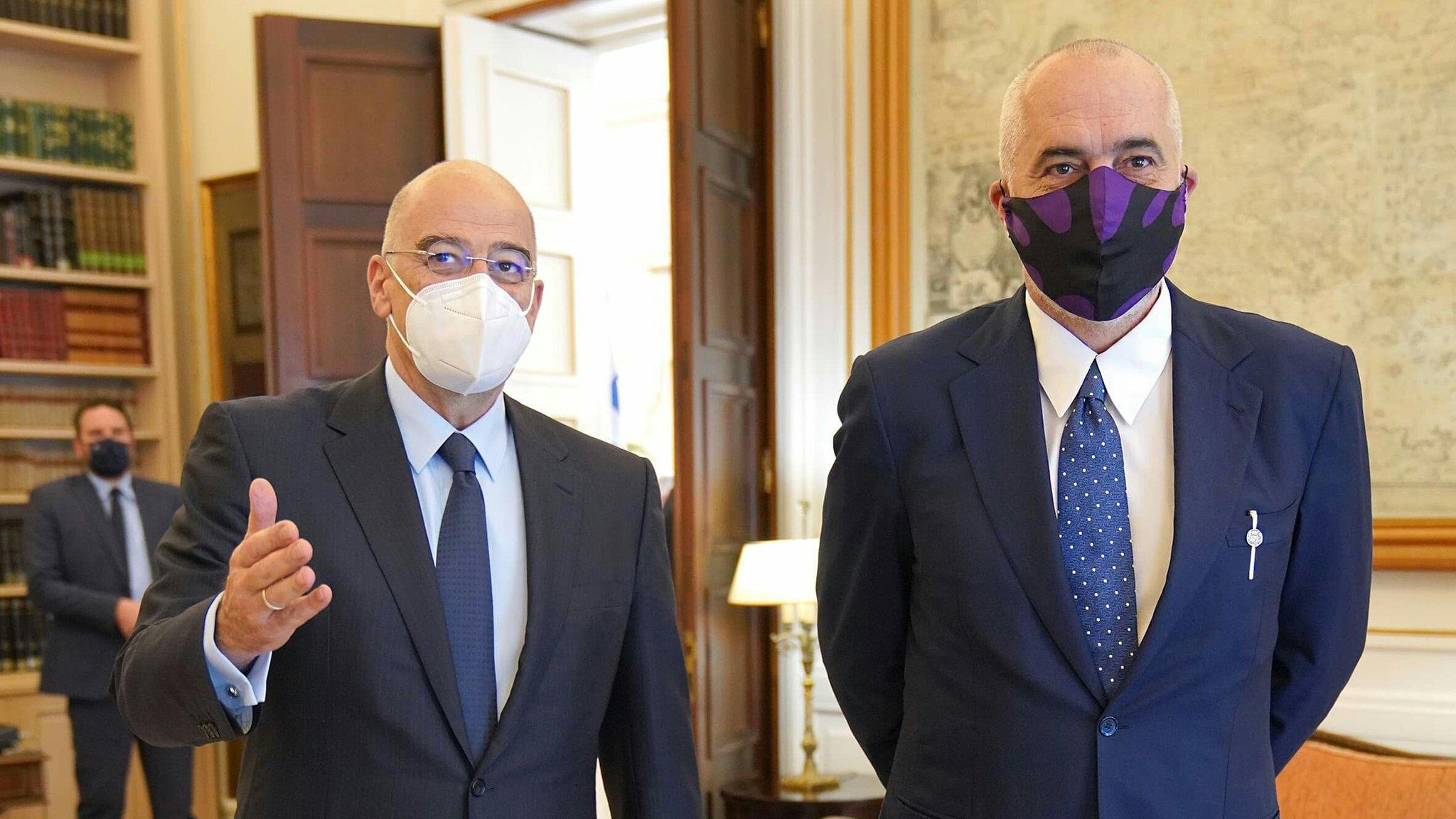 Ministri grek nxjerr foto nga takimi me Ramën: Çfarë u diskutua