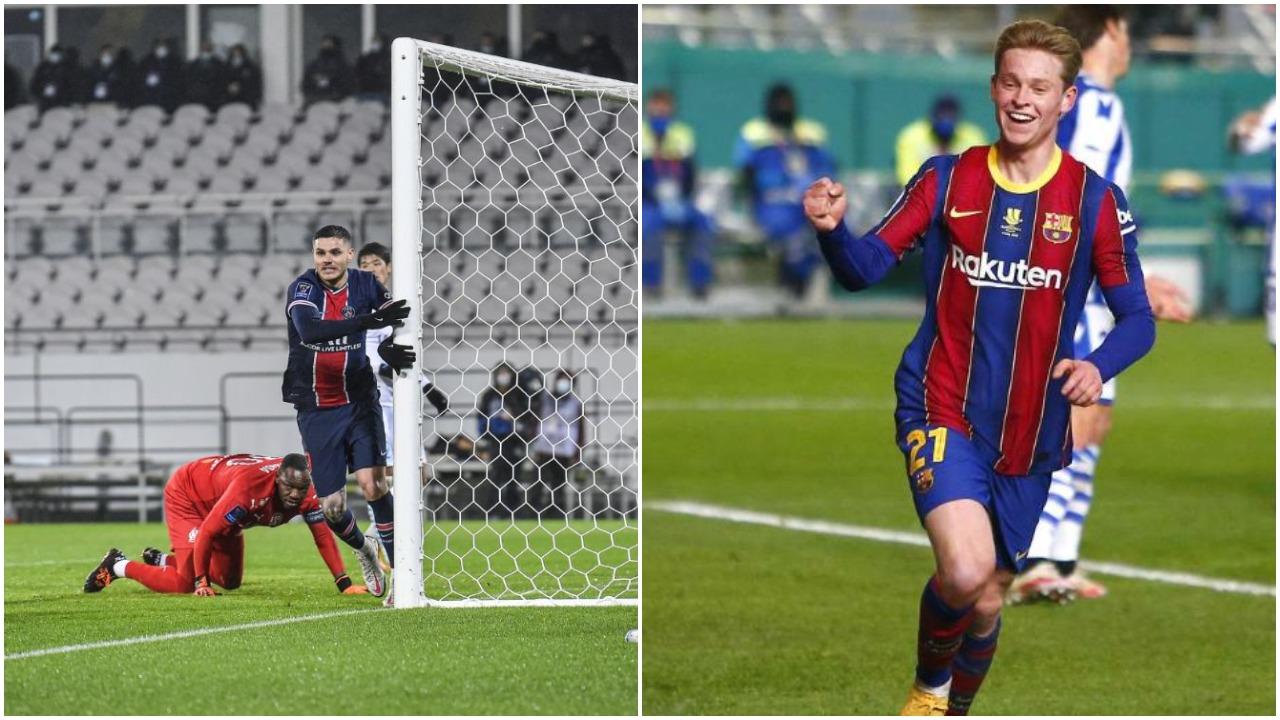 VIDEO/ Superkupat: Icardi zhbllokon finalen e madhe, shënon edhe Barcelona