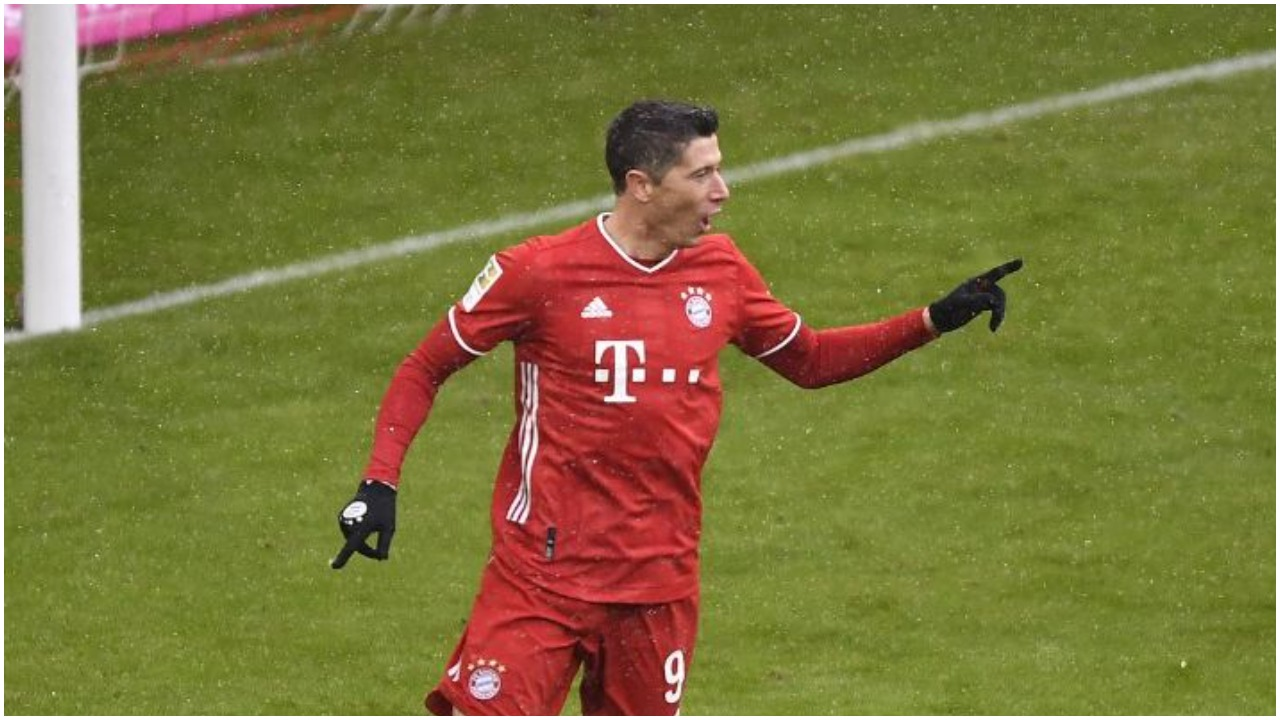 VIDEO/ Robert Lewandowski në histori, Bayern thyen ekipin e Abrashit