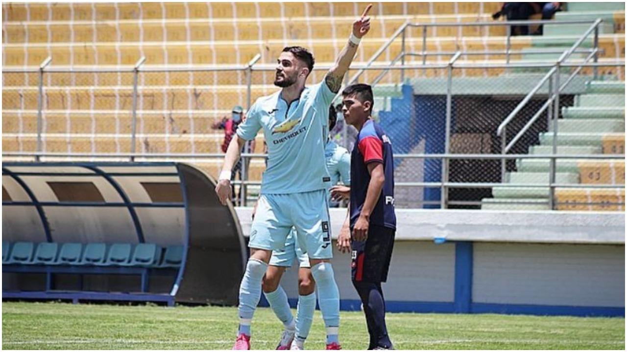 """VIDEO/ """"Manita"""", shtyllë dhe rast flagrant goli: Sadiku i pari shqiptar në Libertadores"""
