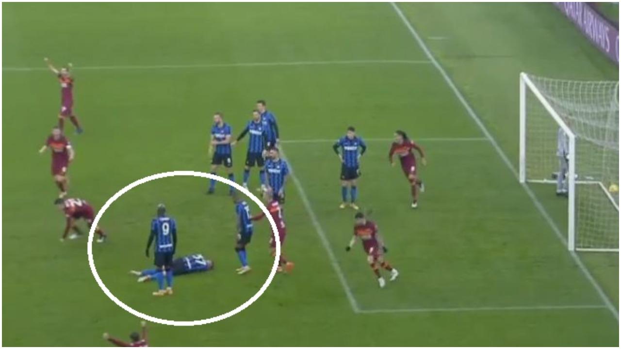 """""""Mancini më goditi me bërryl te goli i dytë"""", proteston mbrojtësi i Interit"""