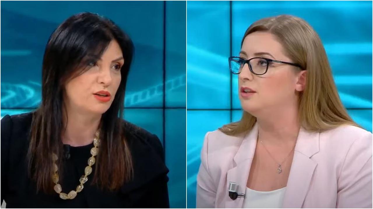 """""""Pyetjet i merr nga Basha"""", gazetarja e ABC i kthehet Topallit: Merre telefonin nëse je më e qetë"""