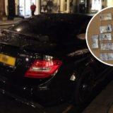 Shqiptari kapet me 100 mijë paund, si i kishte fshehur në makinë