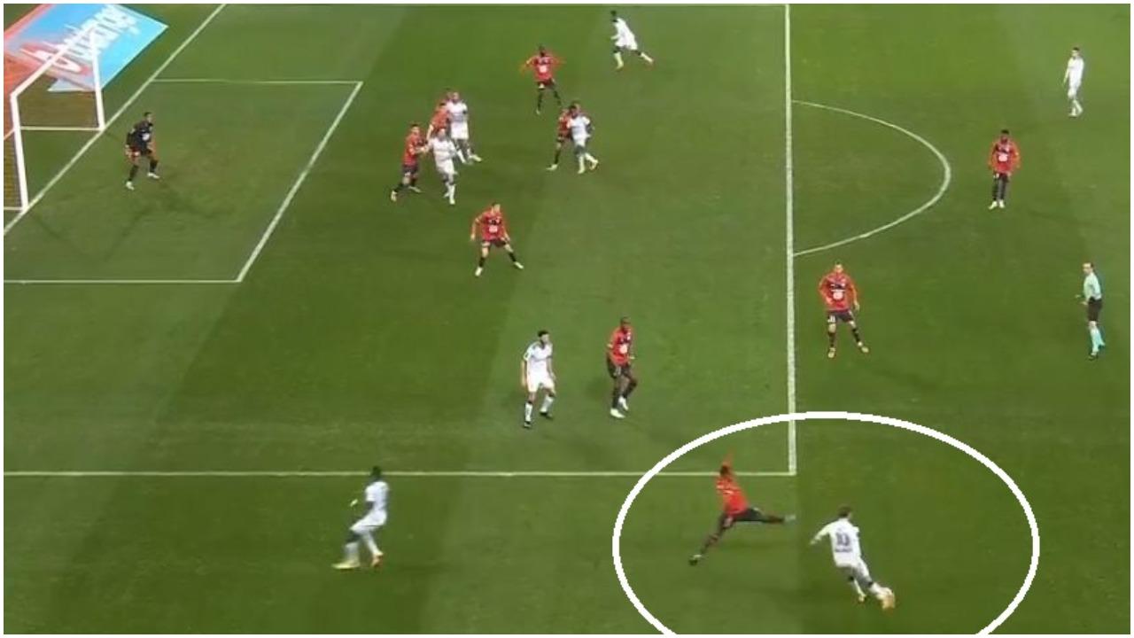 VIDEO/ Zeneli rikthehet te goli në Francë, ylli dardan ndëshkon Lille